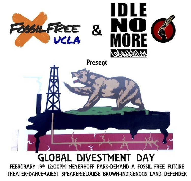 Hosted by Fossil Free UCLA