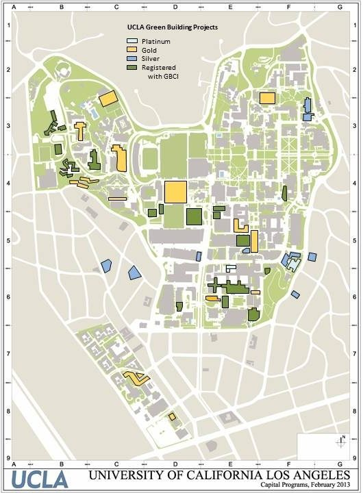 LEED Campus Map May 2015