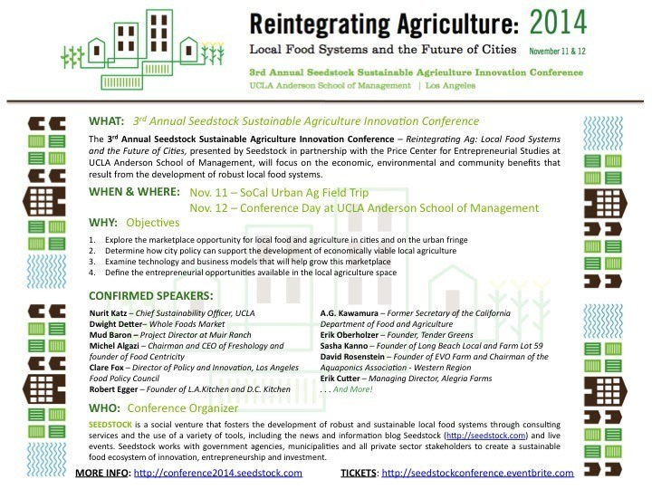 Seedstock Conference Flyer