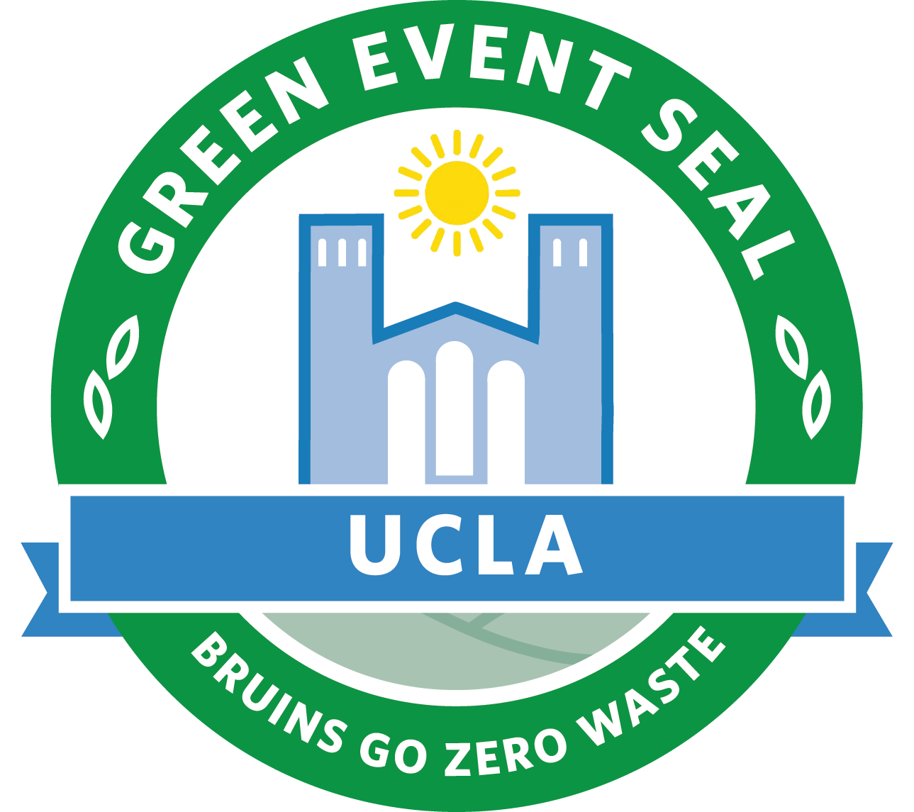 UCLA Green Event Seal